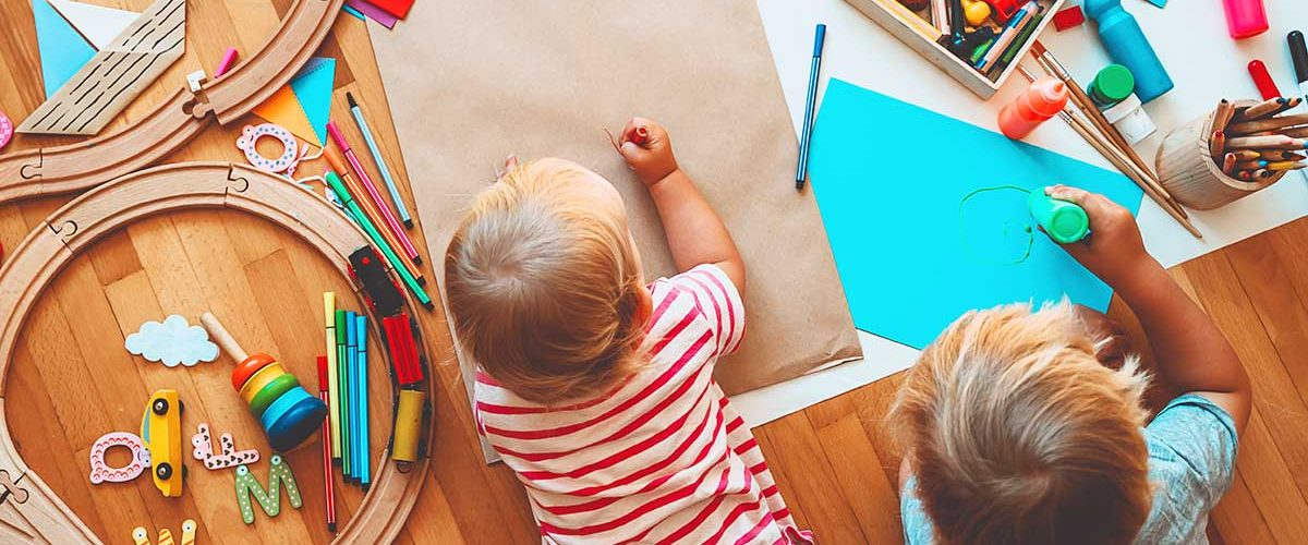Babies Making & Drawing Crafts